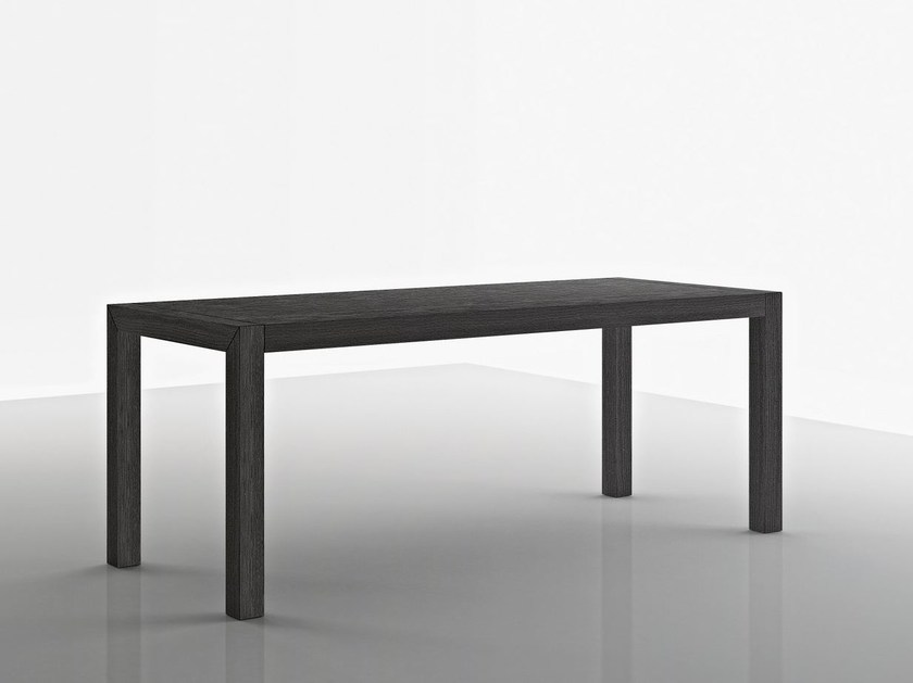 Extending solid wood table FOLD - Boffi