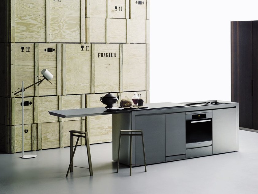 Steel kitchen K2 - Boffi