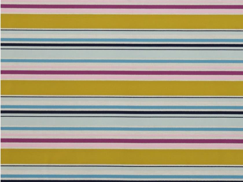 Striped cotton fabric BONNIE - Aldeco, Interior Fabrics