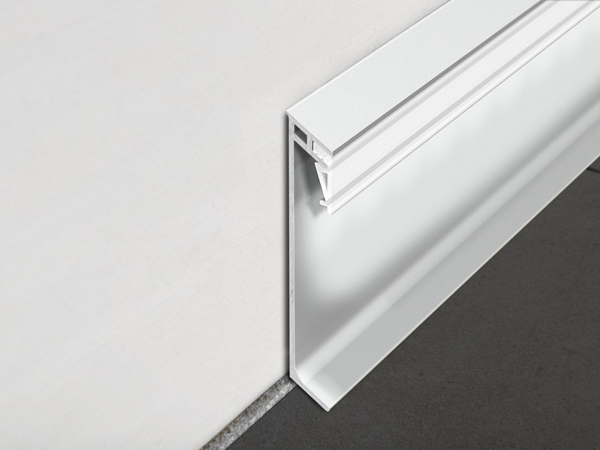 LED aluminium Skirting board PROSKIRTING GILED | Skirting board by PROGRESS PROFILES