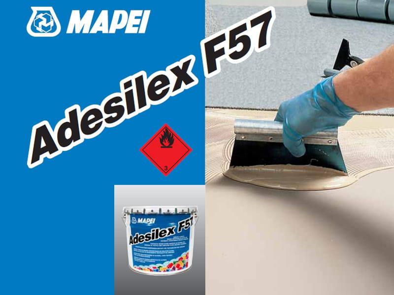 Adhesive for flooring ADESILEX F57 - MAPEI