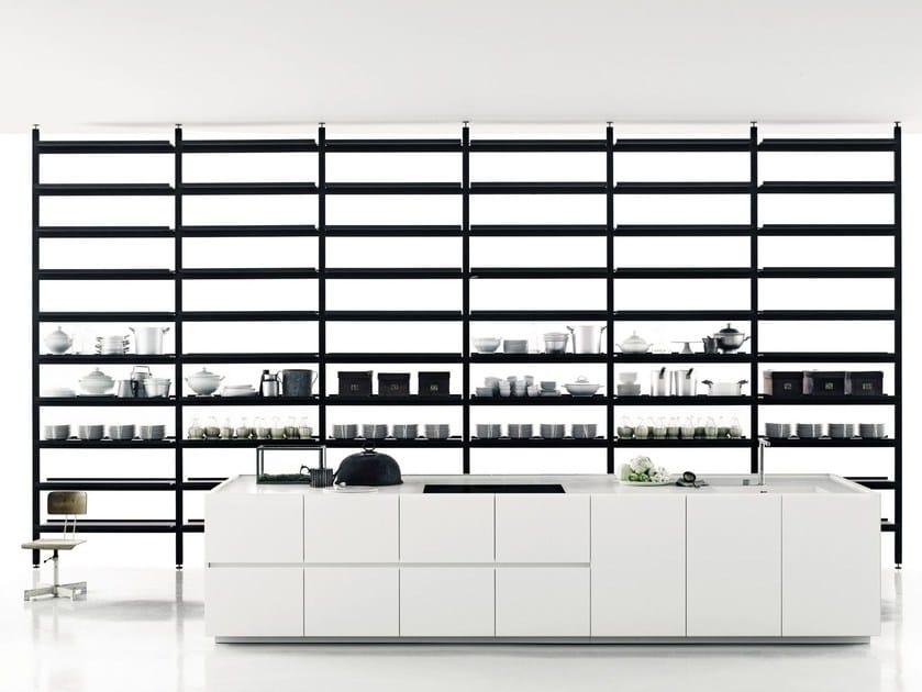 Linear Corian® kitchen K20 - Boffi