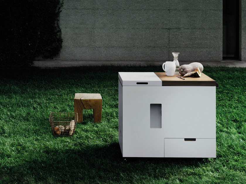 Mini k che minikitchen outdoor by boffi for Mini outdoor kuche