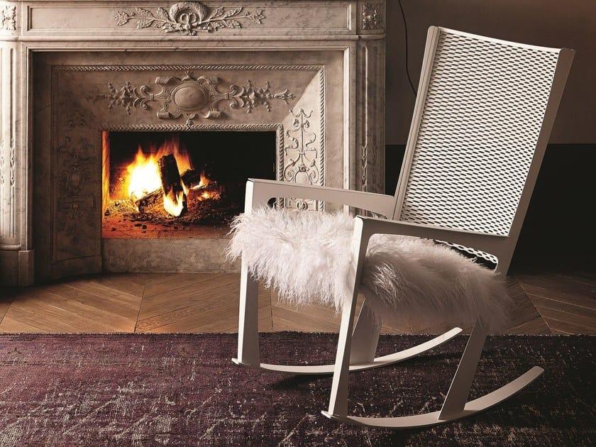 Sedia a dondolo cornelia by cattelan italia design giorgio - Cuscino per sedia a dondolo ...