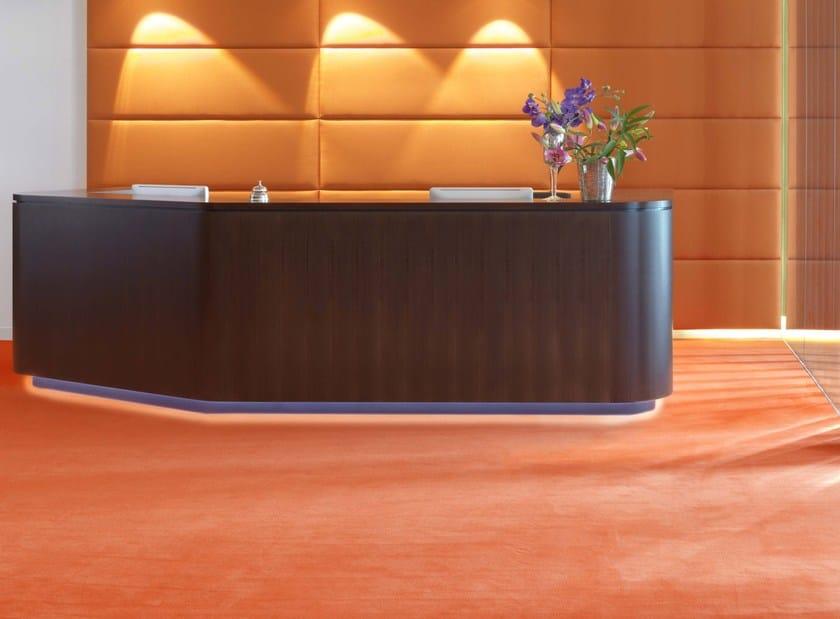 Solid-color carpeting FORMA by Vorwerk Teppichwerke