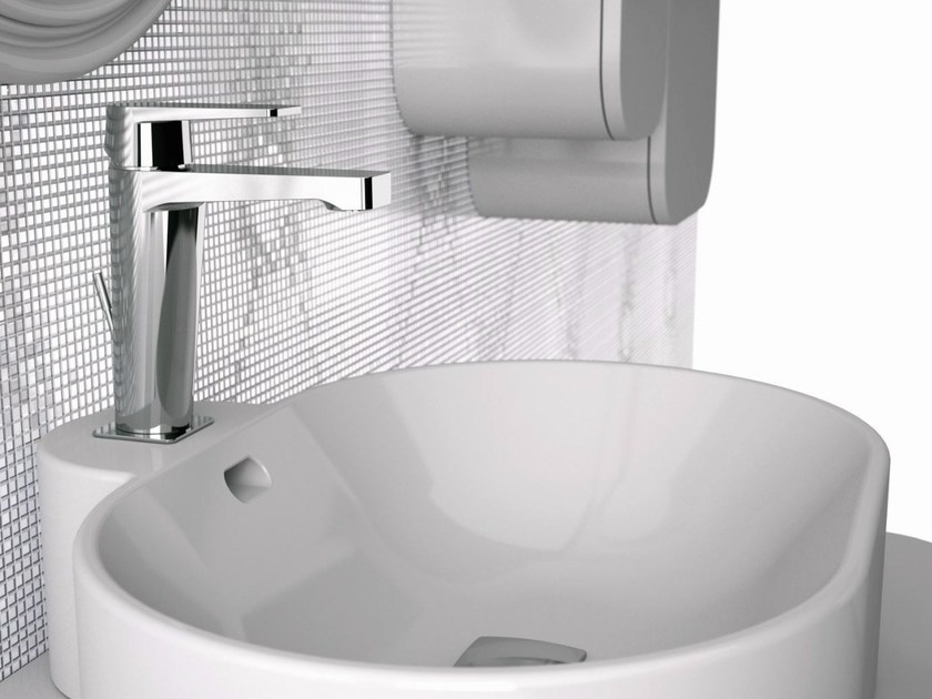 Single-lever basin mixer with pop-up waste DREAM | Washbasin mixer - Remer Rubinetterie