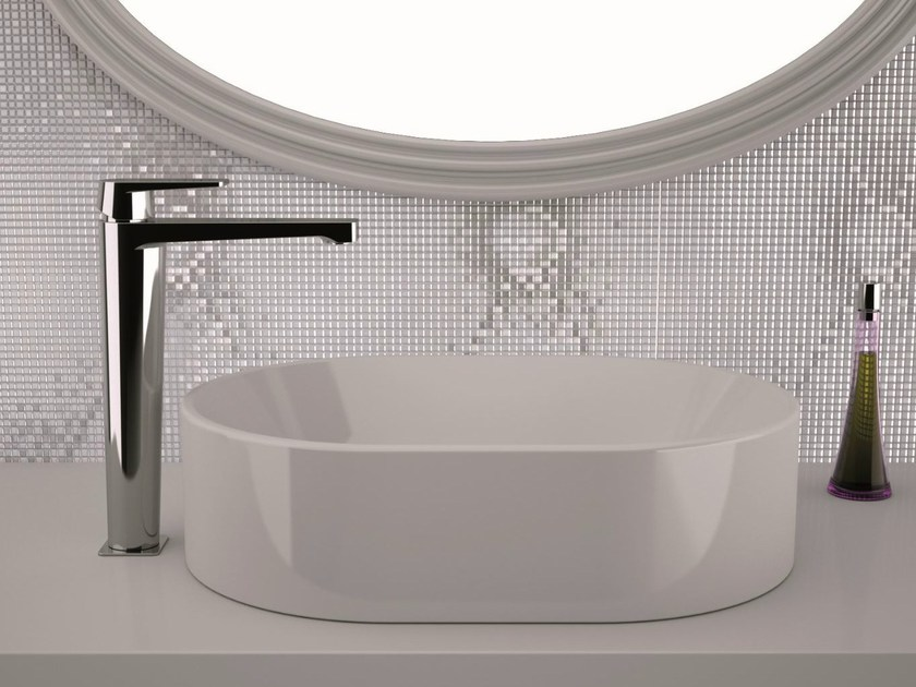 High basin mixer without pop-up waste DREAM | Washbasin mixer without waste - Remer Rubinetterie
