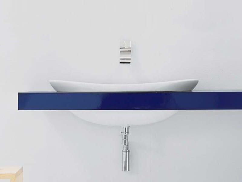 Piano lavabo doppio IO  Piano lavabo doppio - CERAMICA FLAMINIA