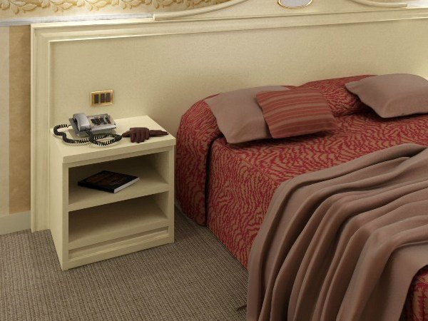 Bedside table for hotel rooms AMARCORD | Bedside table for hotel rooms - Mobilspazio