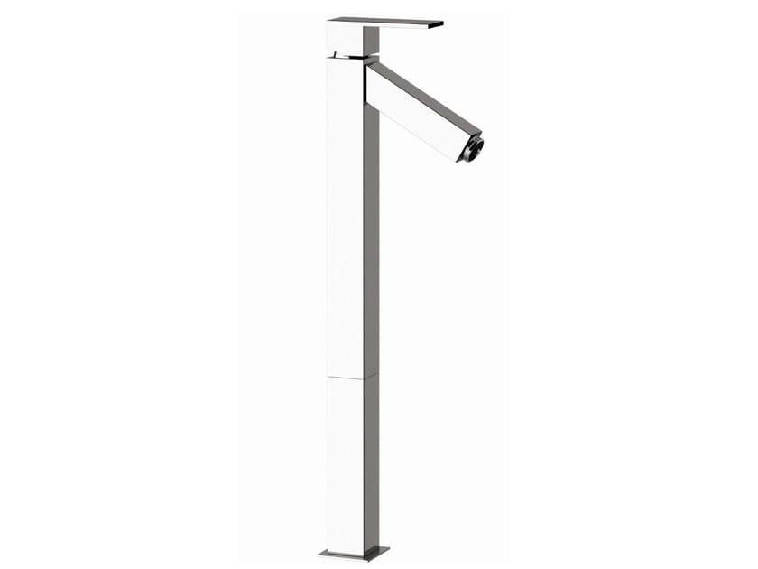 Single handle LED washbasin mixer Q-COLOR   Single handle washbasin mixer - Remer Rubinetterie