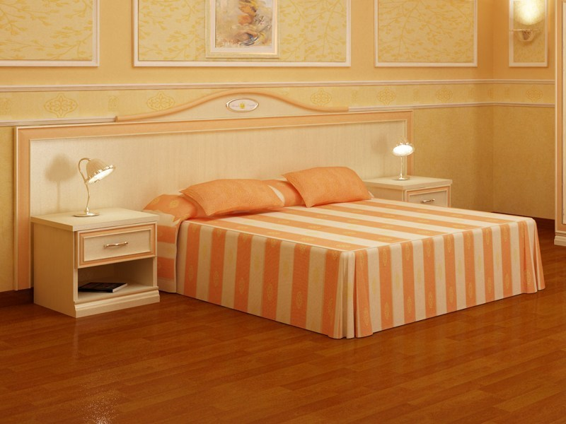 Double bed AMARCORD | Hotel bed - MOBILSPAZIO Contract