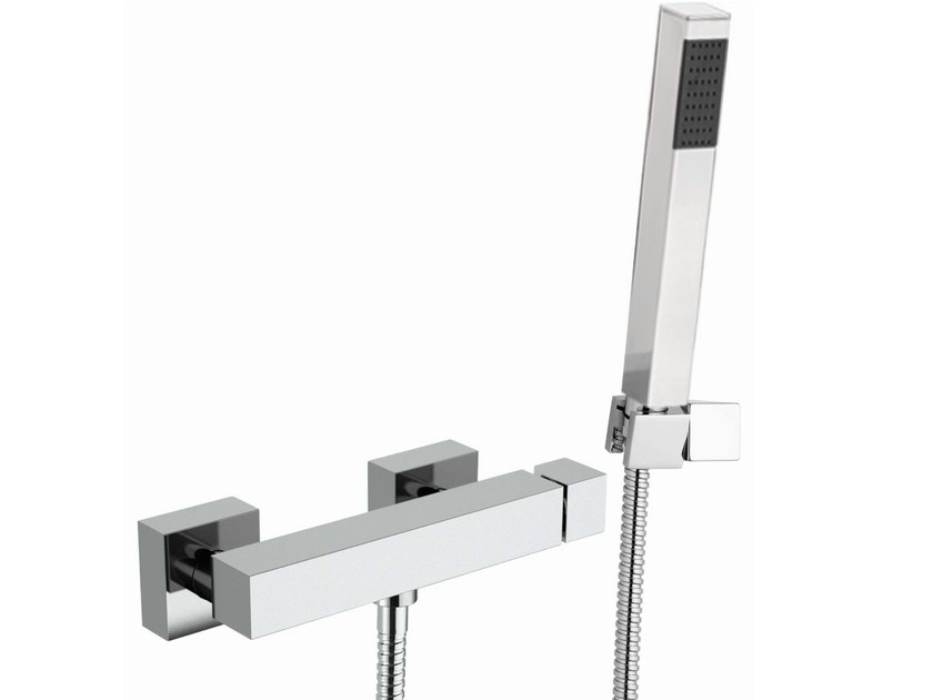 Single handle shower mixer Q-COLOR | Single handle shower mixer - Remer Rubinetterie