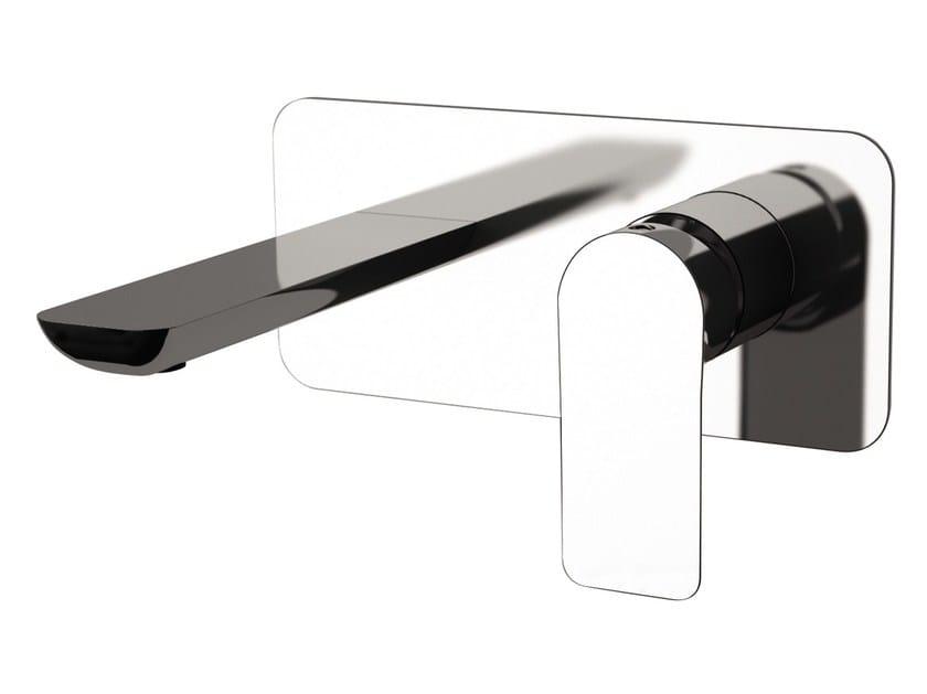 Wall-mounted single handle washbasin mixer INFINITY | Wall-mounted washbasin mixer - Remer Rubinetterie