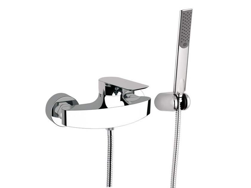 Single handle shower mixer with hand shower INFINITY | Shower mixer - Remer Rubinetterie