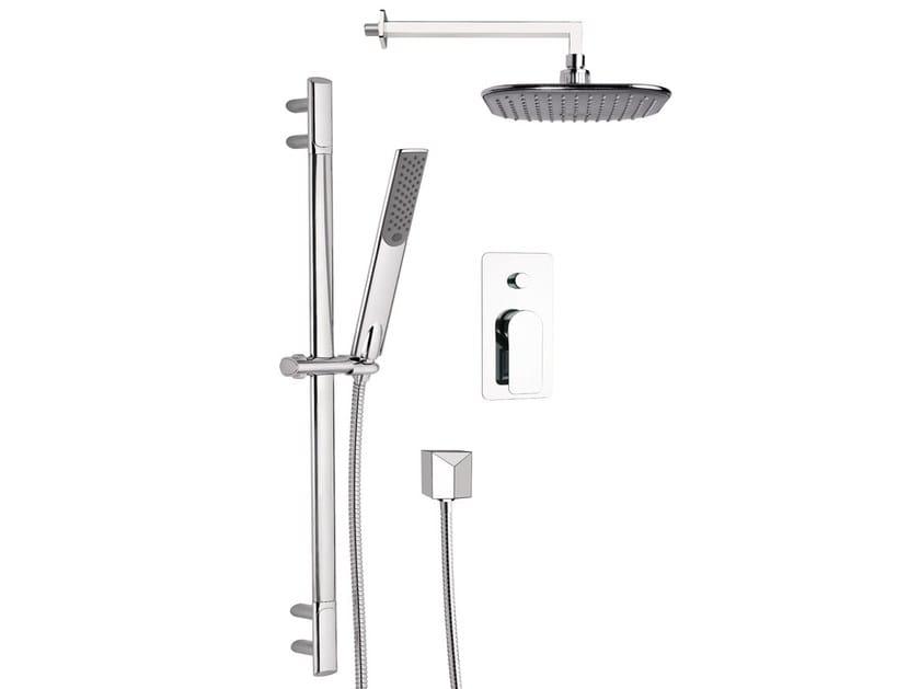Set doccia con soffione e saliscendi infinity by remer rubinetterie - Soffione della doccia ...