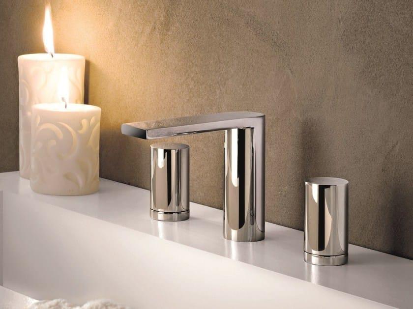 3 hole countertop washbasin tap MILANO - 6204 by Fantini Rubinetti