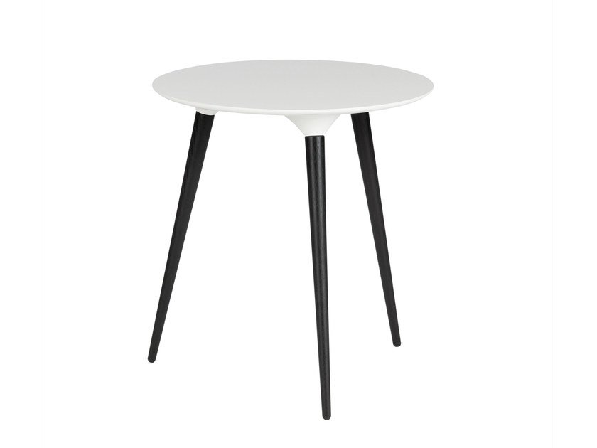 Lacquered round side table ICICLE | Side table - FREDERICIA FURNITURE