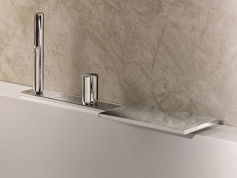 Bathtub set with diverter MILANO - 3065 - Fantini Rubinetti