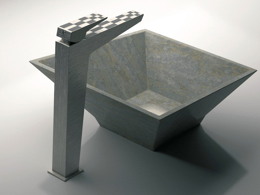 Single handle washbasin mixer without waste SPEED DEKORA | Washbasin mixer without waste - Daniel Rubinetterie