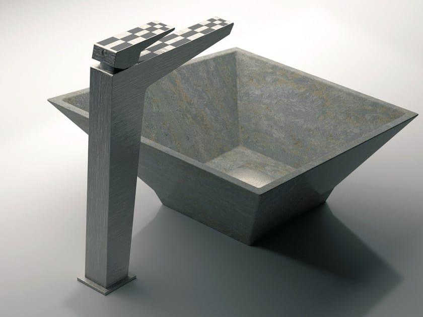 Single handle washbasin mixer without waste SPEED DEKORA | Washbasin mixer without waste by Daniel Rubinetterie