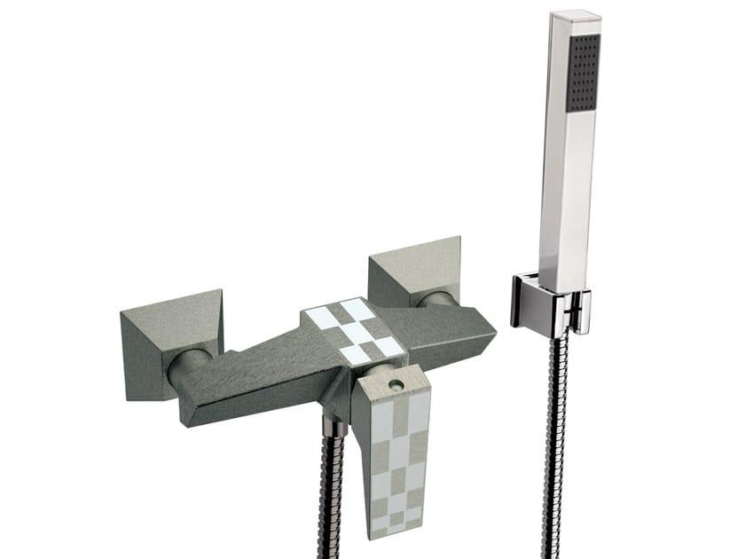 Bathtub set with hand shower SPEED DEKORA | Bathtub set - Daniel Rubinetterie