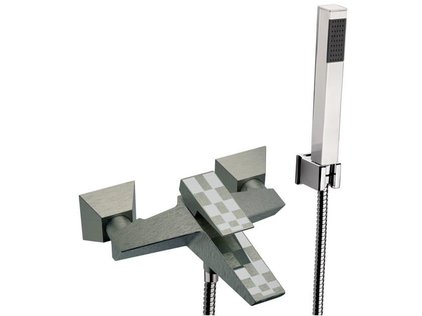 Bathtub set with hand shower SPEED DEKORA | Bathtub set with hand shower by Daniel Rubinetterie
