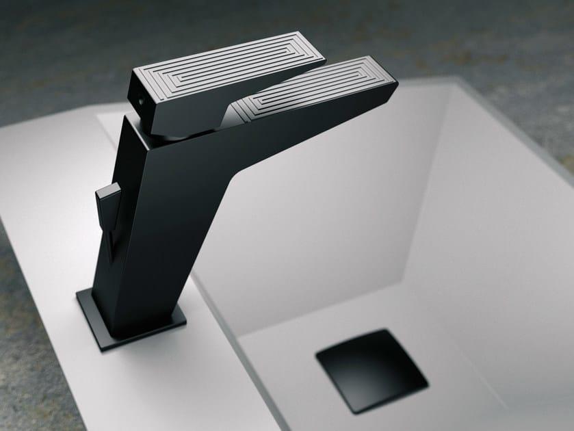 Single handle washbasin mixer SPEED DEKORA SENSE | Single handle washbasin mixer - Daniel Rubinetterie