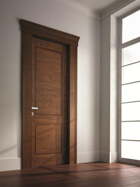 Porta a battente in legno massello arca porta in - Porte per interni garofoli ...