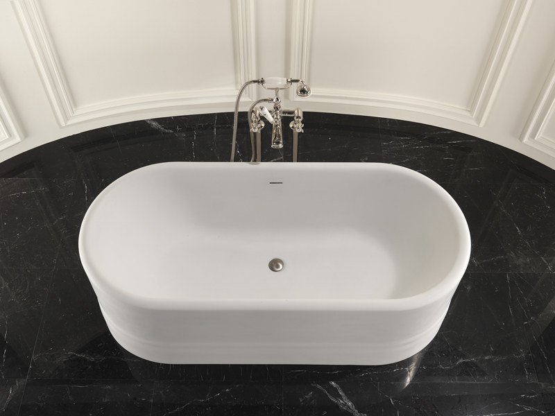 Vasca da bagno ovale diva devon devon - Vasca da bagno ovale ...