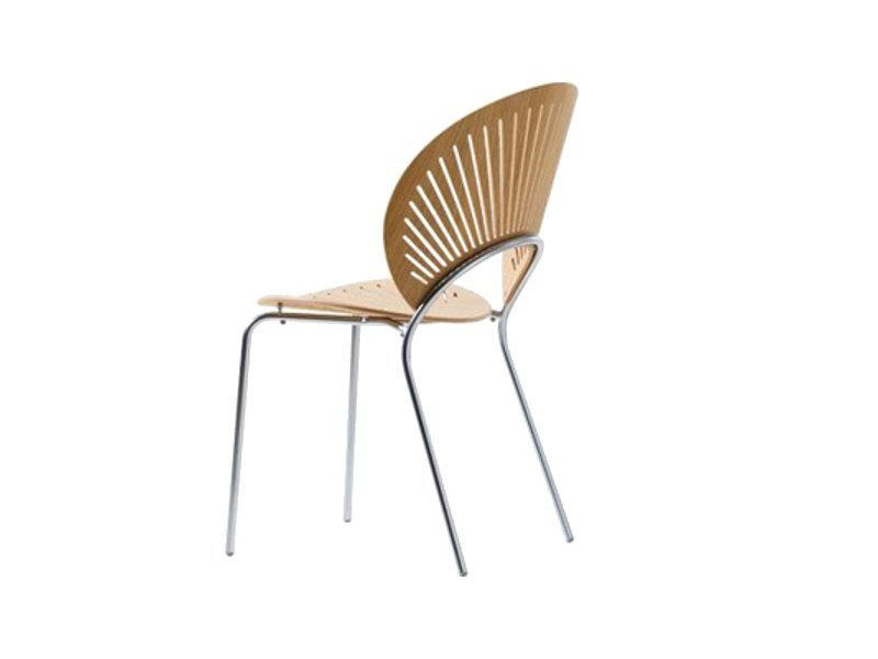 Stackable wooden chair TRINIDAD | Wooden chair - FREDERICIA FURNITURE