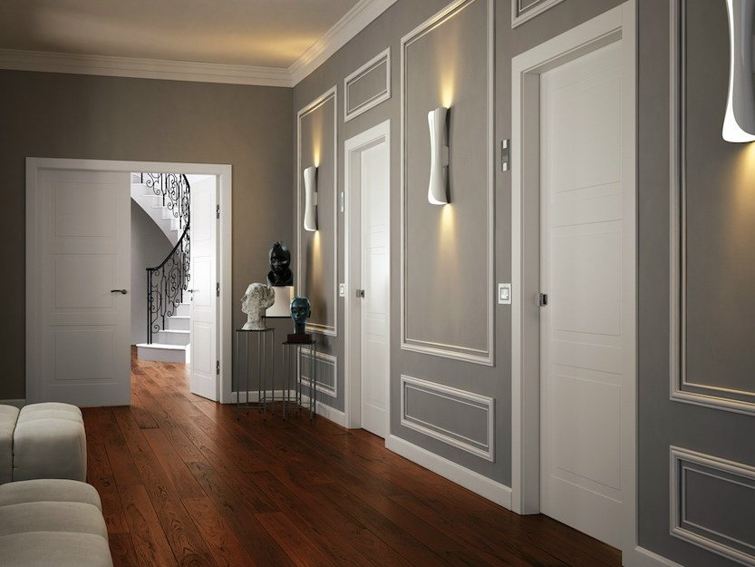Lacquered fire-rated door GDESIGN REI 60 | Lacquered door - GAROFOLI