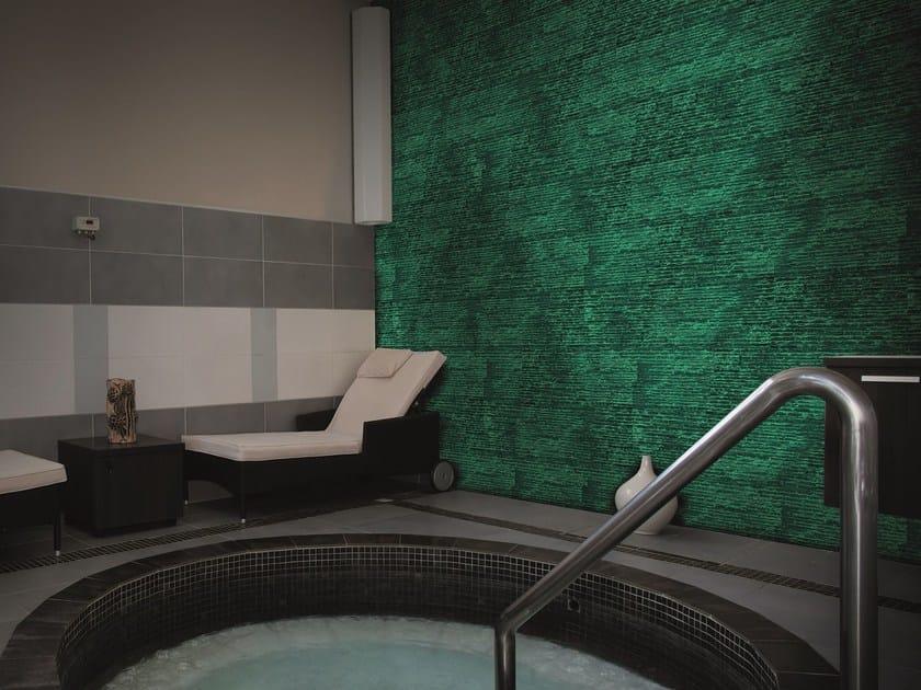 Ecofriendly luminescent indoor wall stone tiles ANTARES - BIOPIETRA®
