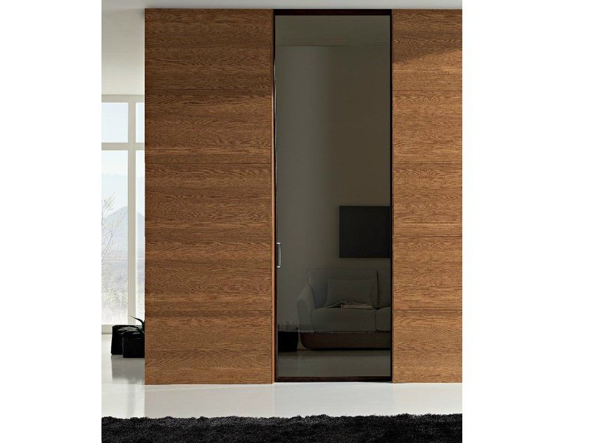 Glass sliding door GDESIGNER | Sliding door - GAROFOLI