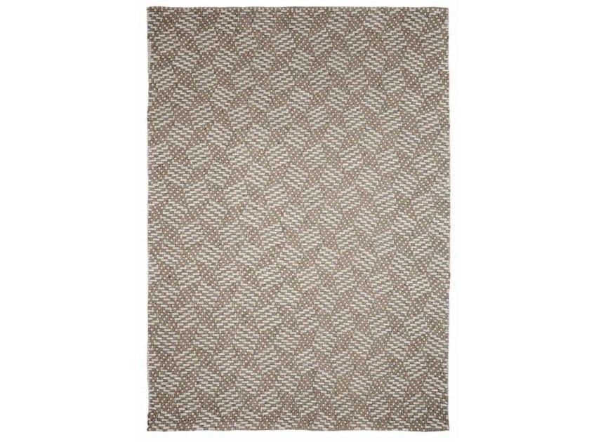 Tappeto fatto a mano in tessuto PACIFIC by Warli design ...