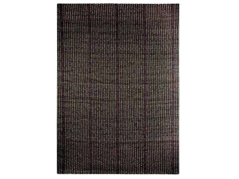 Handmade fabric rug WEAVE - Warli