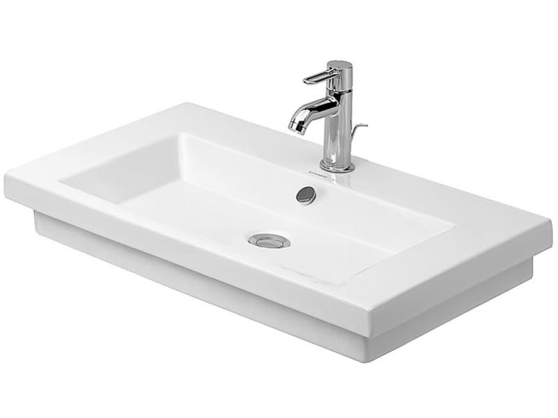 Single washbasin 2ND FLOOR | Pedestal washbasin - DURAVIT