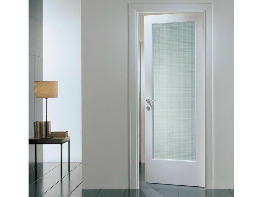 Hinged laminated glass door PANGEA | Laminated glass door - GAROFOLI