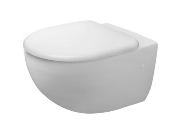 Wall-hung ceramic toilet ARCHITEC | Wall-hung toilet - DURAVIT