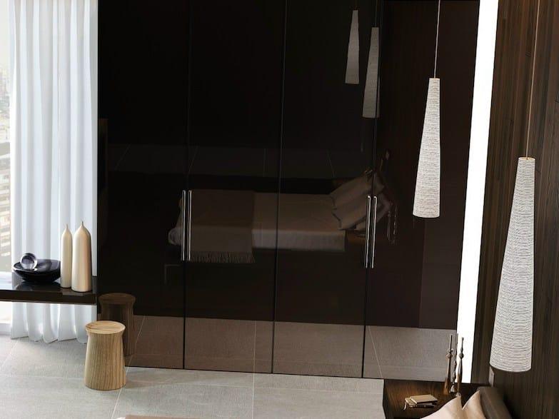 Lacquered wardrobe door MIRIA PLANIA | Lacquered cabinet door - GAROFOLI