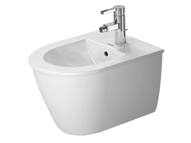 Compact wall-hung ceramic bidet DARLING NEW | Wall-hung bidet by Duravit