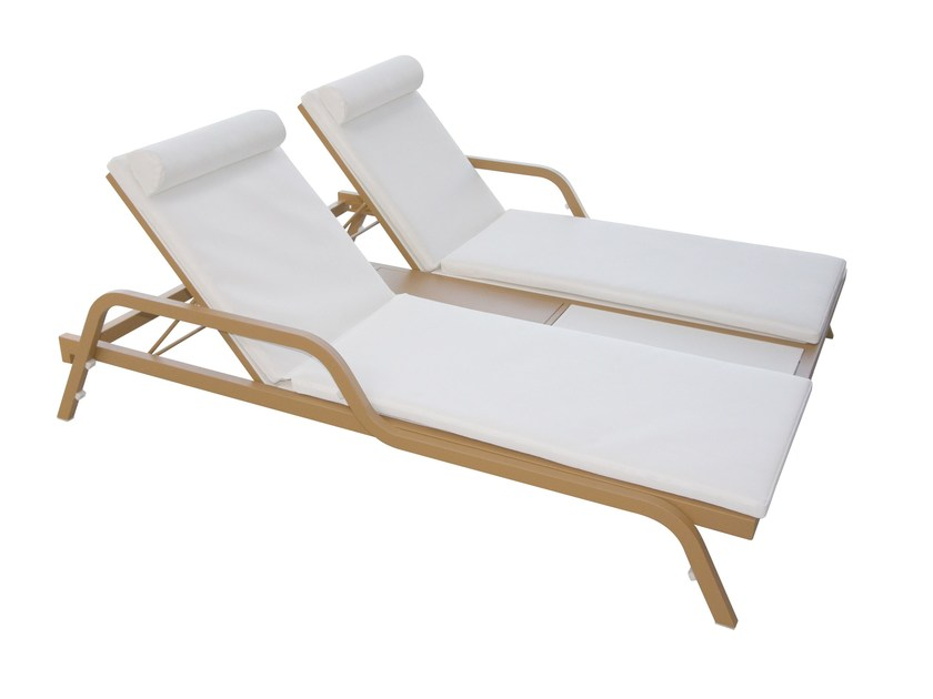 Double Batyline® garden daybed DOUBLE SUNLOUNGER - Sérénité Luxury Monaco