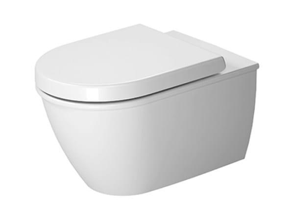 Wall-hung ceramic toilet DARLING NEW | Wall-hung toilet - DURAVIT