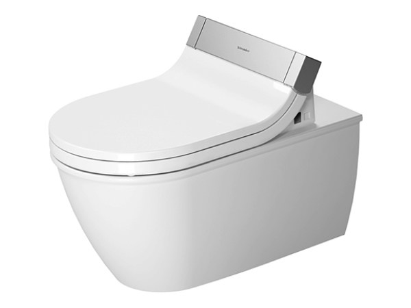 Wall-hung ceramic toilet DARLING NEW | Wall-hung toilet - DURAVIT