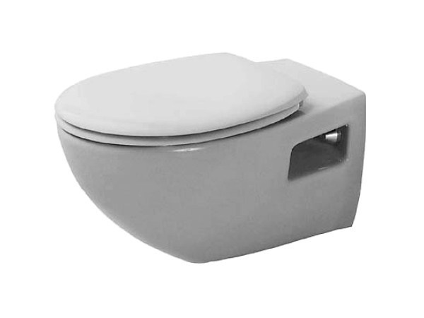 Wall-hung ceramic toilet DURAPLUS | Wall-hung toilet - DURAVIT