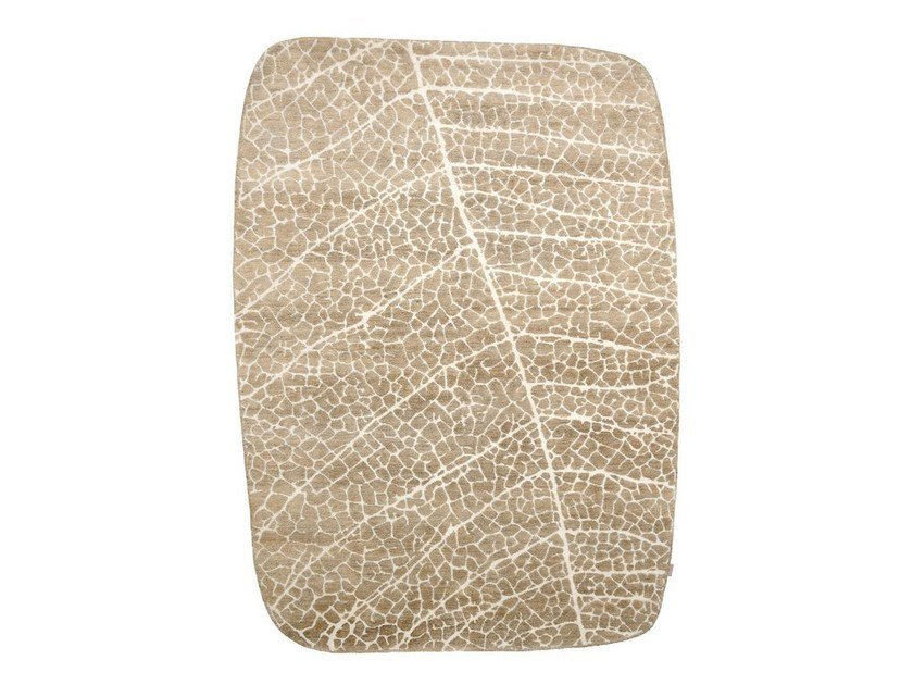 Handmade natural fibre rug TULSI - Warli