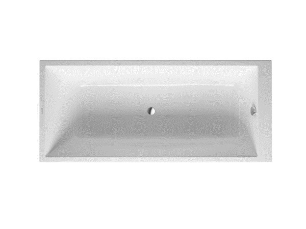 Rectangular acrylic bathtub DURASTYLE | Rectangular bathtub - DURAVIT