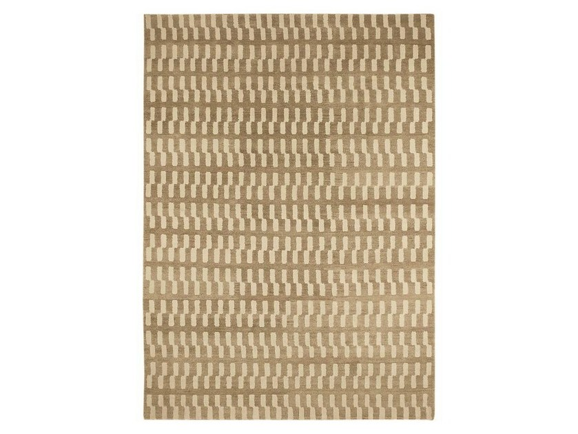 Handmade natural fibre rug ZIP - Warli