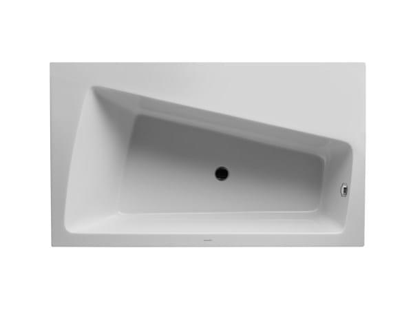 Corner acrylic bathtub PAIOVA | Corner bathtub - DURAVIT