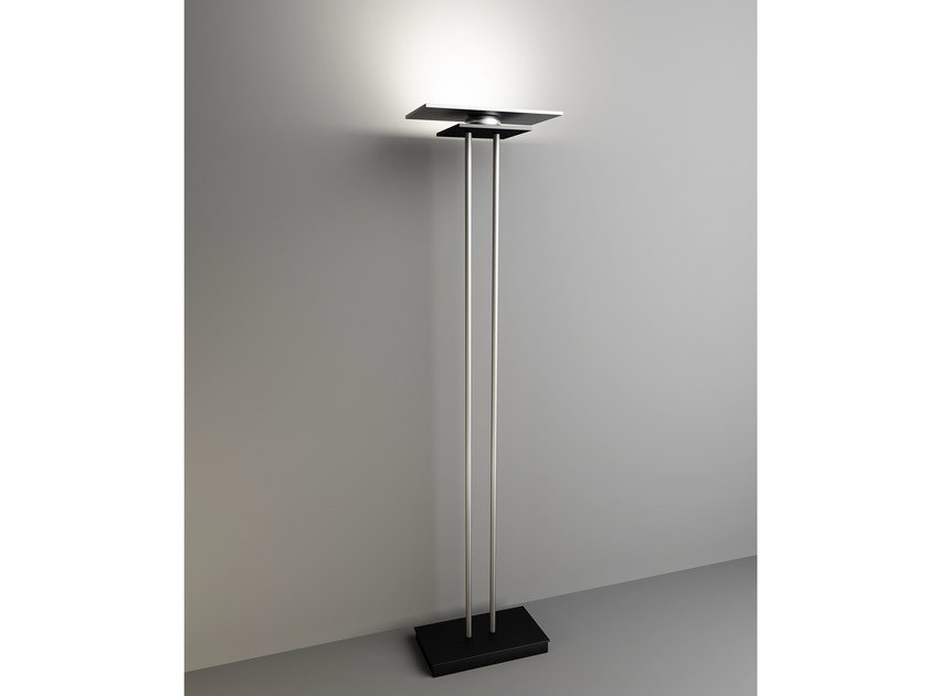 Indirect light floor lamp with dimmer EOS | Floor lamp - Quasar