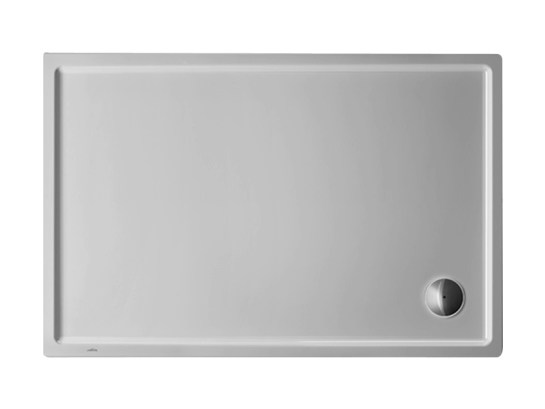 Rectangular acrylic shower tray STARCK | 120 x 80 by Duravit